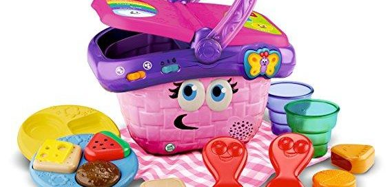 LeapFrog Shapes And Sharing Picnic Basket $16.59